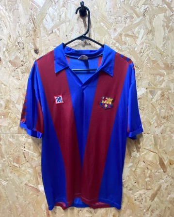 1980/82  Barcelona Meyba Mens Home Shirt Size Small / Medium