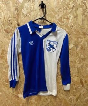 1986/87 adidas Grasshoppers Zurich Original Long Sleeve Football Shirt