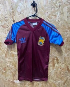 1983/85 Original West Ham adidas Home Football Shirt