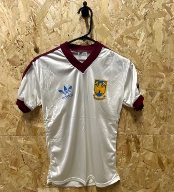 1980/83 West Ham Adidas Original Away Football Shirt