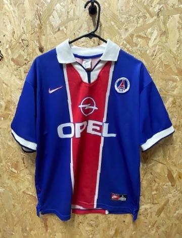 1997/98 Nike Paris St Germain (PSG) Home Shirt Size L/XL