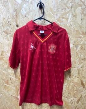 1988  Le Coq Sportif Spain  Home Shirt Size Medium