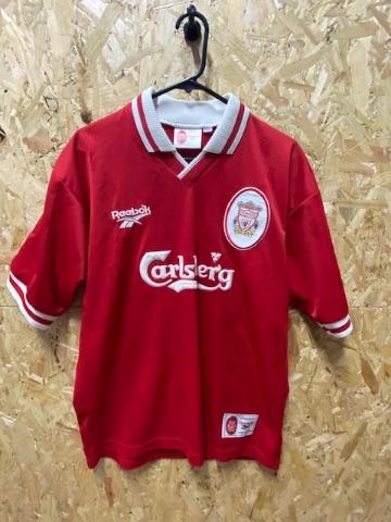 1996/98  Liverpool Reebok  Home Shirt Red Size Medium Mens