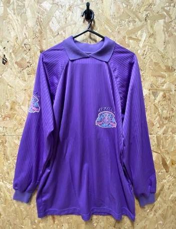 Vintage Reusch Aeroclub Goalkeeper Shirt Purple Size Large