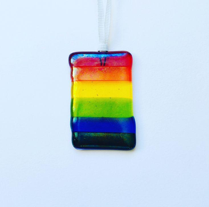Mini iridescent rainbow