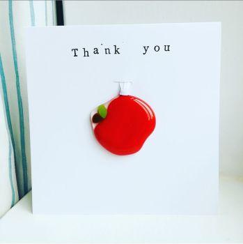 Apple keepsake card