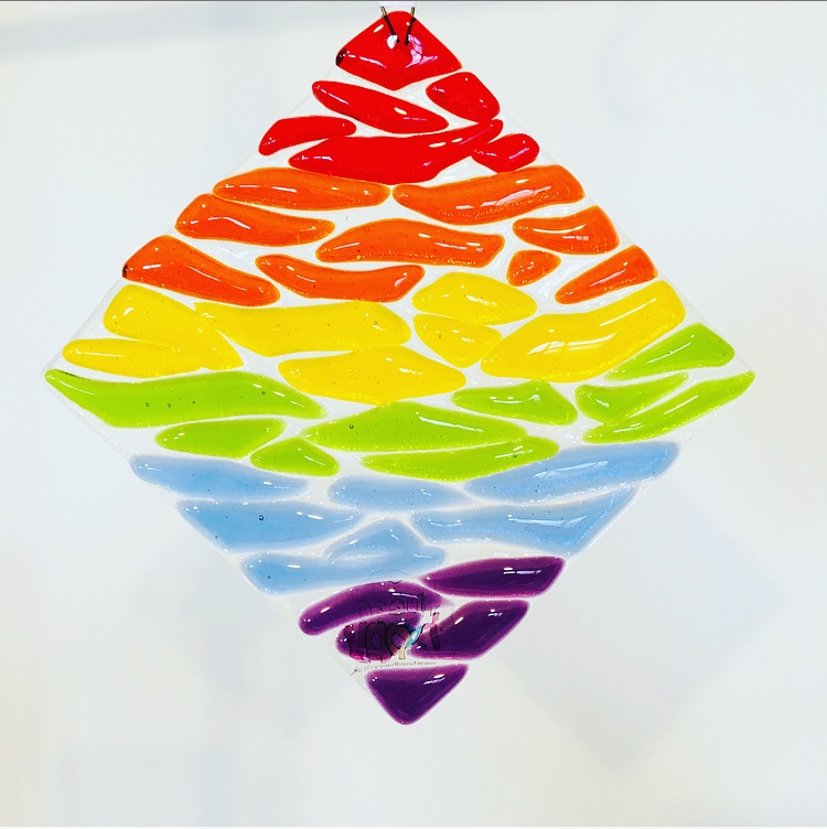 Transparent rainbow