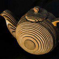 Teapot - plywood
