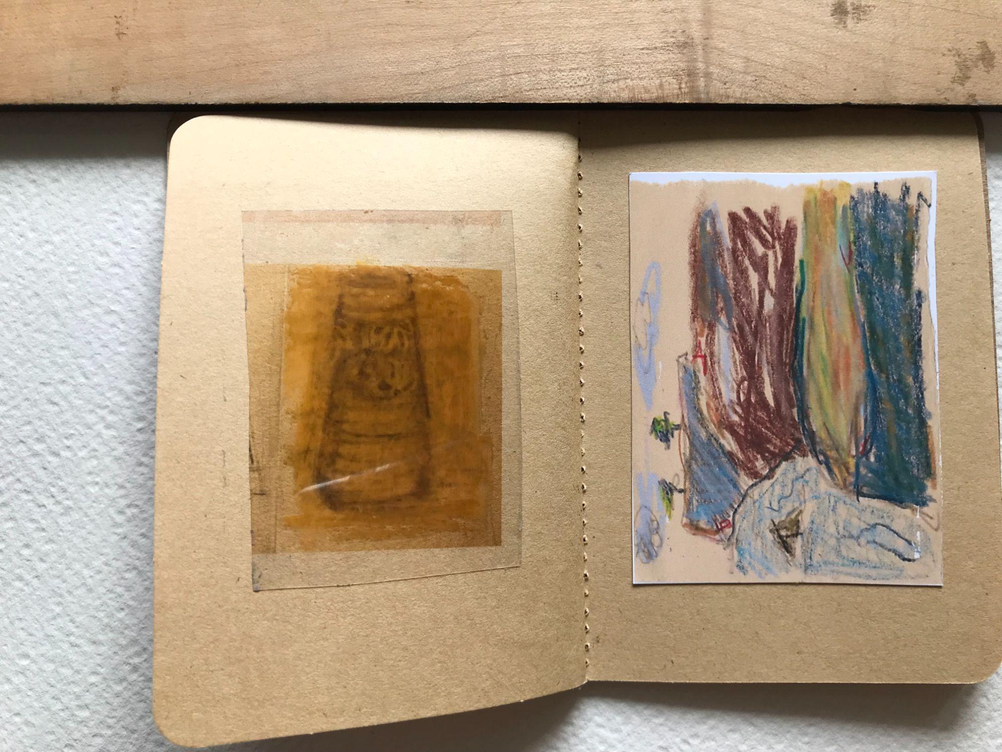 ellen tiny sketchbook