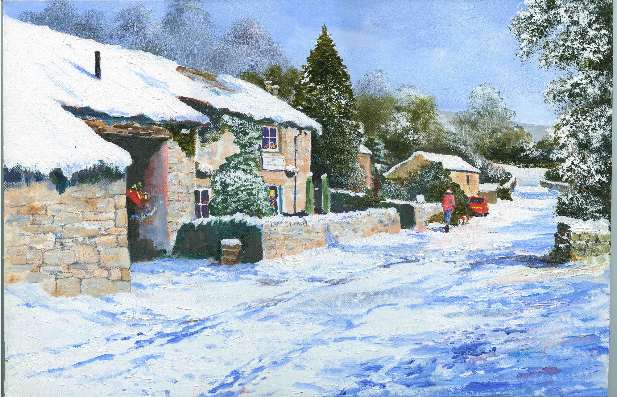 Harry Caunce Snowscene 3