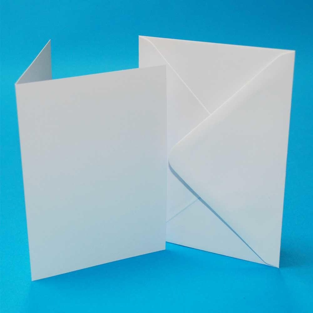 A5/C5 White Card Blanks & Envelopes