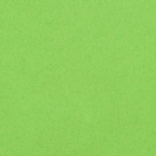 Wool Blend Felt Squares 9 x 9 Inch (2 Pack) - Lime Green