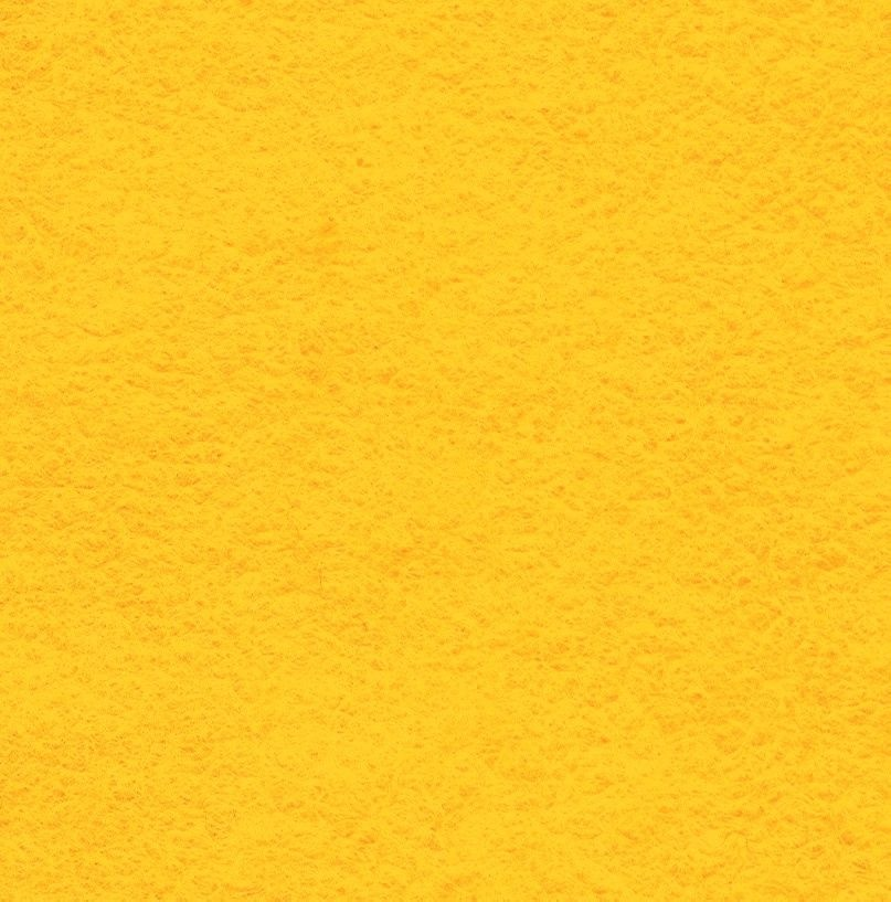 Wool Blend Felt Squares 9 x 9 Inch (2 Pack) - Yellow
