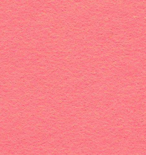 Wool Blend Felt Squares 9 x 9 Inch (2 Pack) - Rose Pink