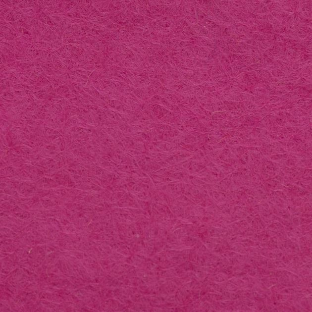 Wool Blend Felt Squares 9 x 9 Inch (2 Pack) - Fuchsia
