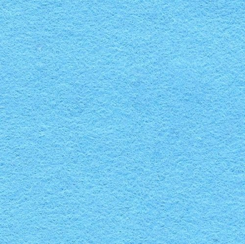 Wool Blend Felt Squares 9 x 9 Inch (2 Pack) - Sky Blue