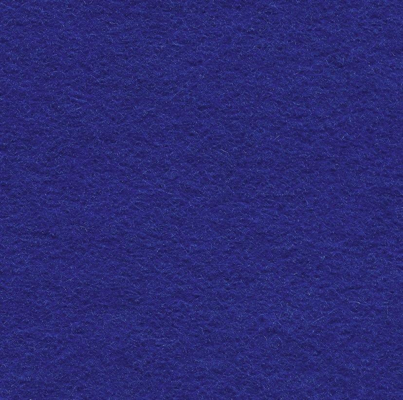 Wool Blend Felt Squares 9 x 9 Inch (2 Pack) - Royal Blue
