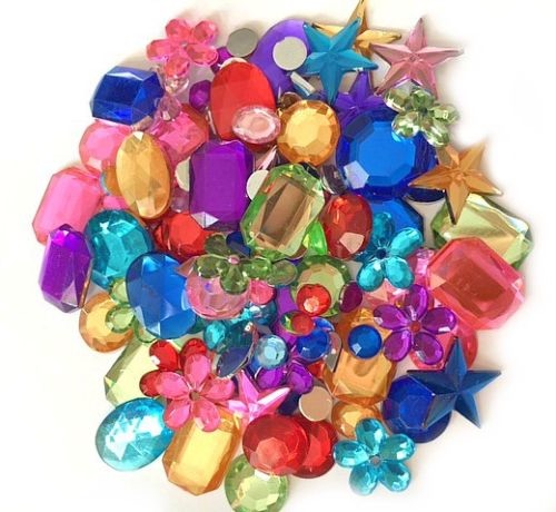 Beads, Flat Backs & Gems