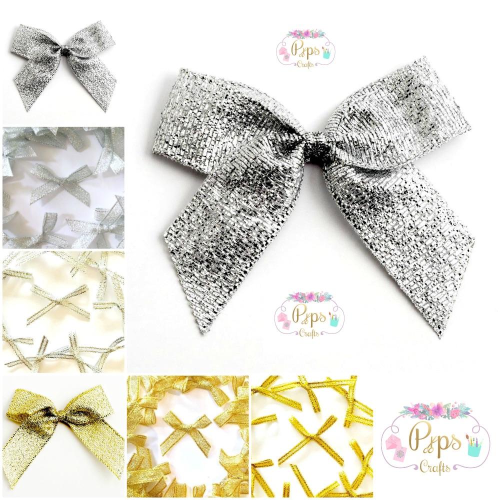 Lurex & Organza Bows