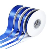 5 Metres Quality Double Satin Ribbon 10mm Wide - Royal Blue