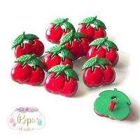 Cherry Buttons 15mm