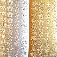 Stars Peel Off Sticker Sheet