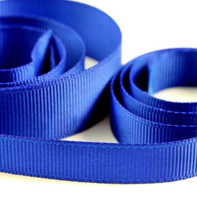 5 Metres Quality Grosgrain Ribbon 3mm Wide - Royal Blue