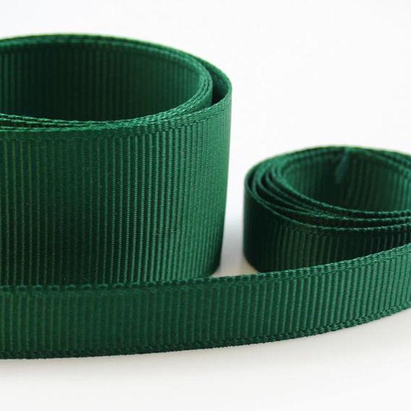 5 Metres Quality Grosgrain Ribbon 6mm Wide - Bottle Green
