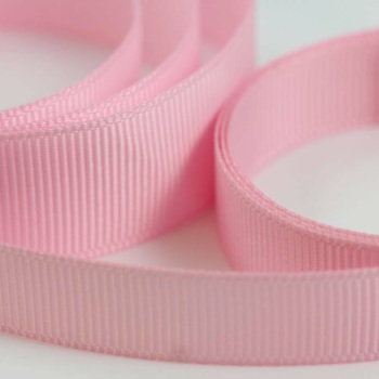 5 Metres Quality Grosgrain Ribbon 15mm Wide - Light Pink