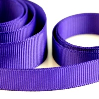 5 Metres Quality Grosgrain Ribbon 15mm Wide - Purple