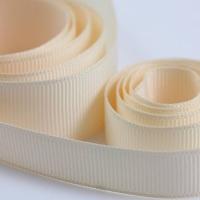 5 Metres Quality Grosgrain Ribbon 15mm Wide - Cream
