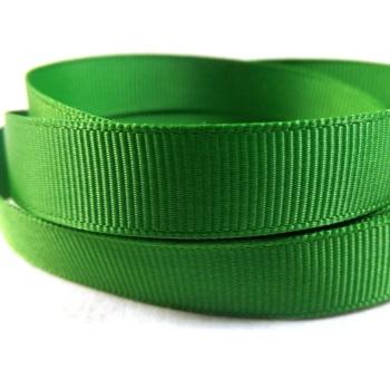 5 Metres Quality Grosgrain Ribbon 40mm Wide - Emerald Green
