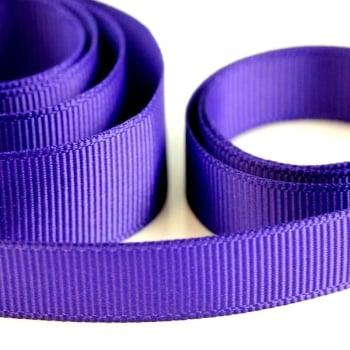 5 Metres Quality Grosgrain Ribbon 40mm Wide - Purple