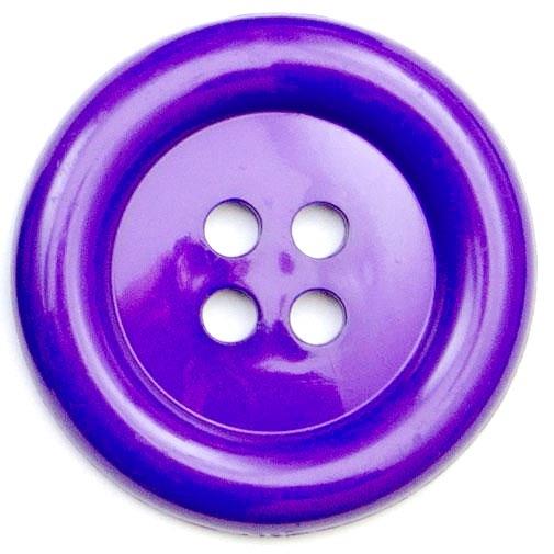 XL Clown Buttons Size 60 - Purple