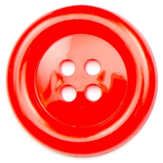 XL Clown Buttons Size 60 - Red