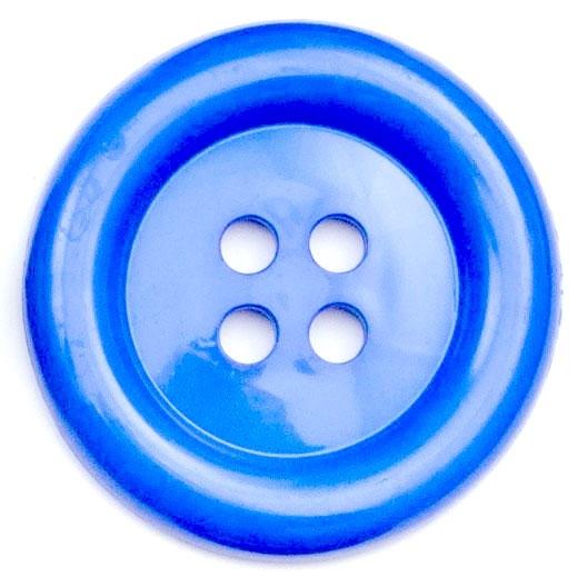 XL Clown Buttons Size 60 - Royal Blue
