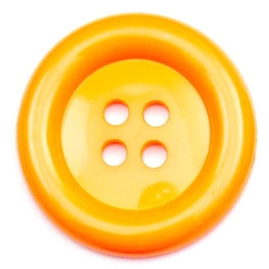 XL Clown Buttons Size 60 - Orange