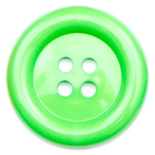 XL Clown Buttons Size 60 - Green
