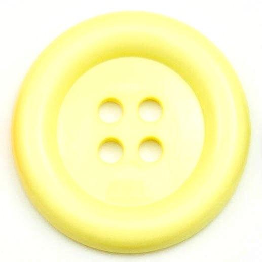 XL Clown Buttons Size 60 - Yellow