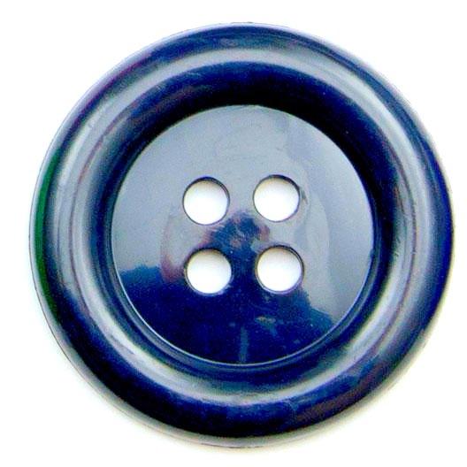 XL Clown Buttons Size 60 - Navy Blue