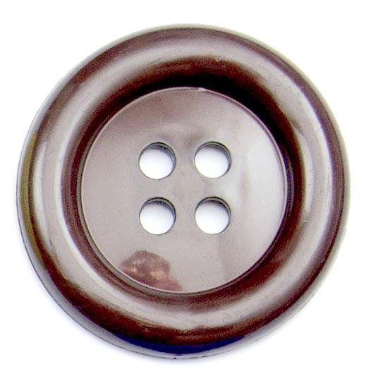 XL Clown Buttons Size 60 - Brown