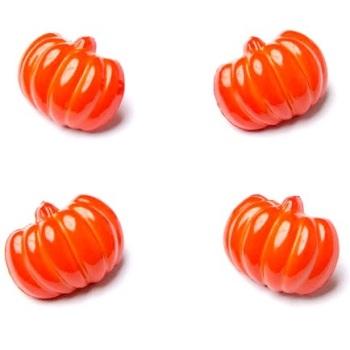 Spooky Halloween Pumpkin Buttons - 18mm