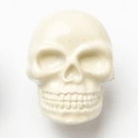 Spooky Halloween Skull Buttons - 18mm