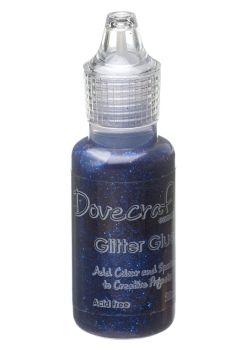 Dovecraft Glitter Glue 20ml - Midnight Blue