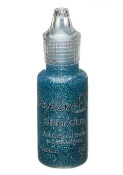 Dovecraft Glitter Glue 20ml - Icicle Blue