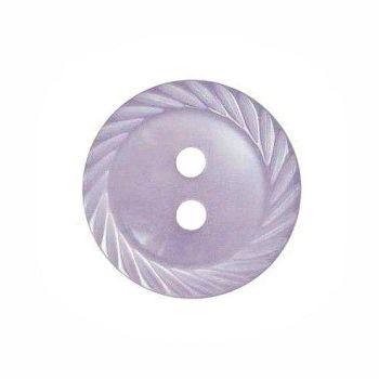 Round Mill Edge Buttons Size 18 - Lilac