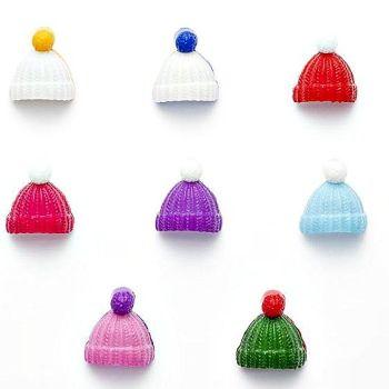 Bobble Hat Buttons - 18mm