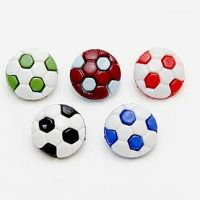 Novelty Football Buttons - 13mm