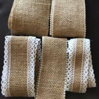 Hessian Ribbon Off Cuts - 3 Metres