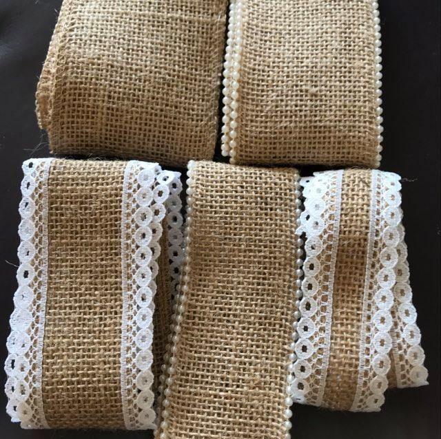 Hessian Ribbon Off Cuts - 3 Metres